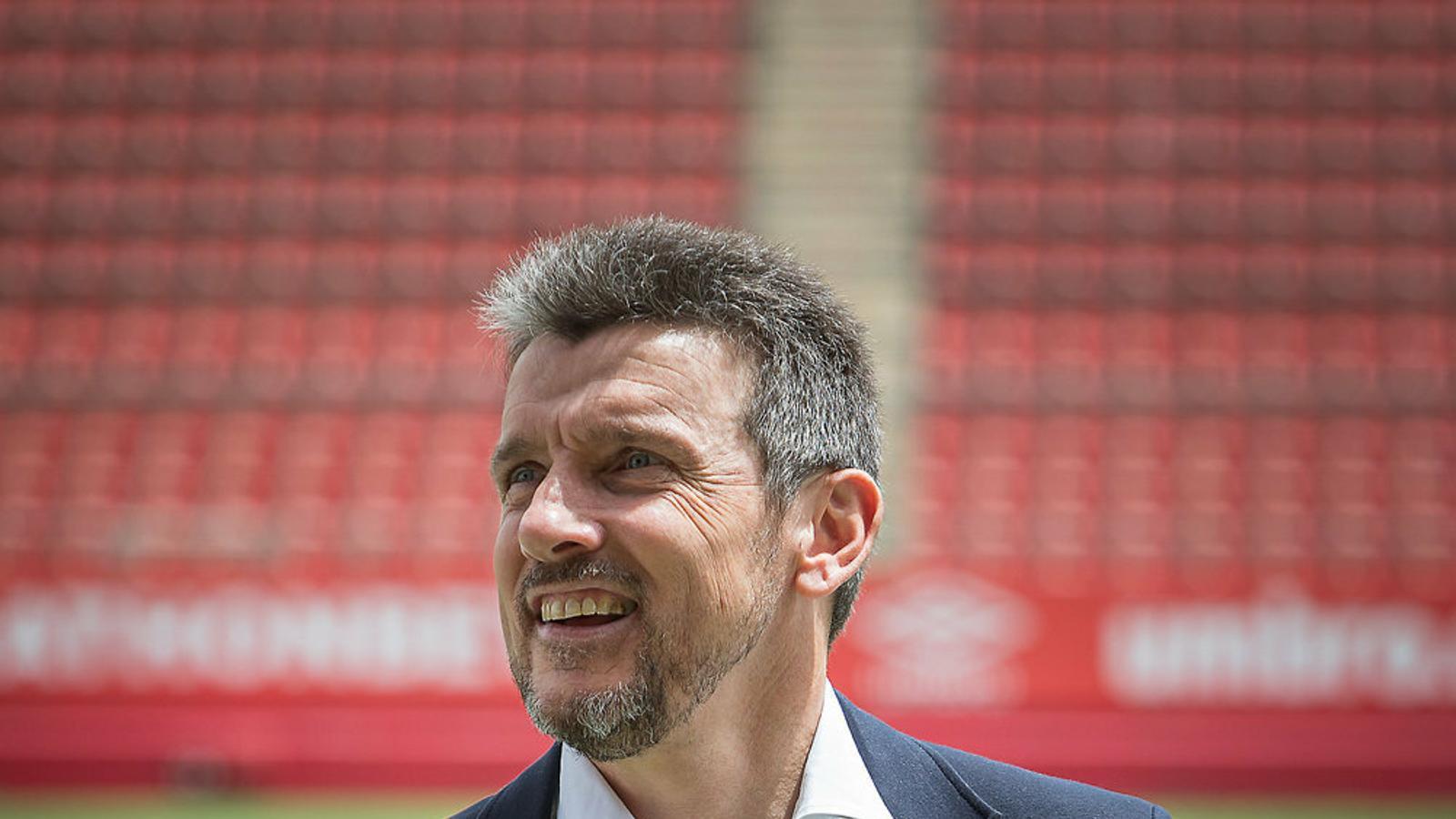 Unzué necessita el triomf contra l'Oviedo.