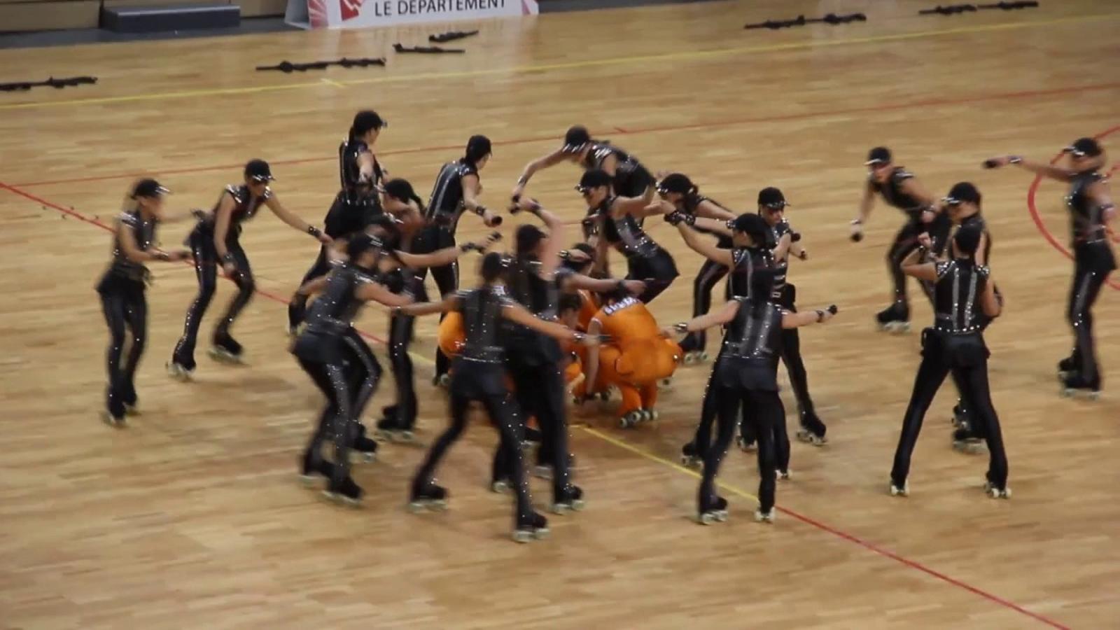 'Sóc innocent', la coreografia amb la que el CPA Olot lluitarà per l'or al Mundial de Nanjing