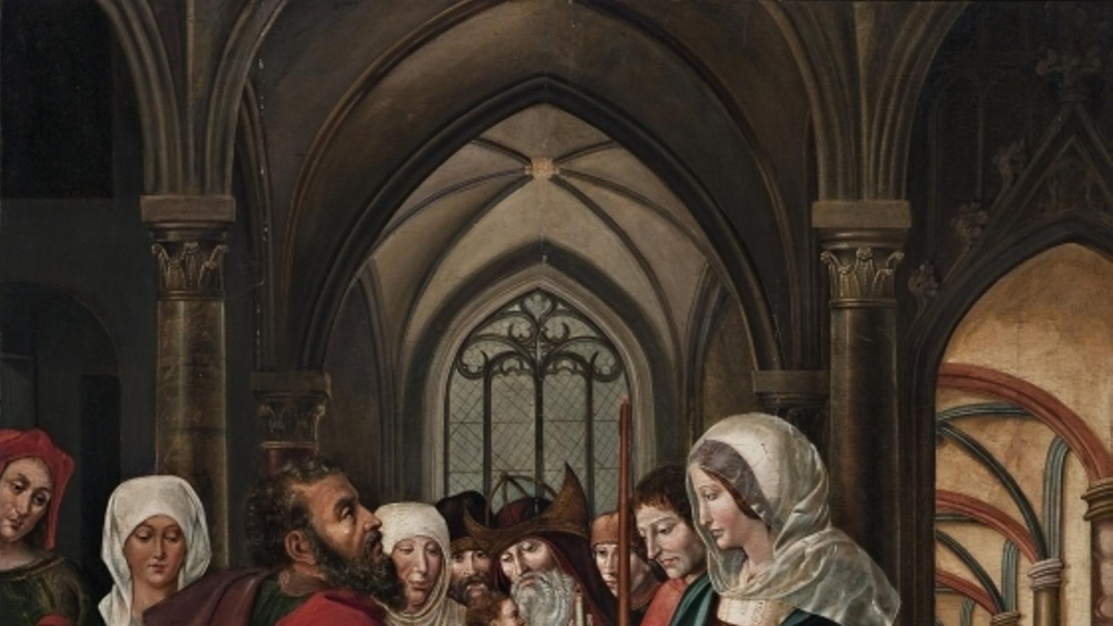 'Presentació de Jesús al temple', del Mestre de Sixena