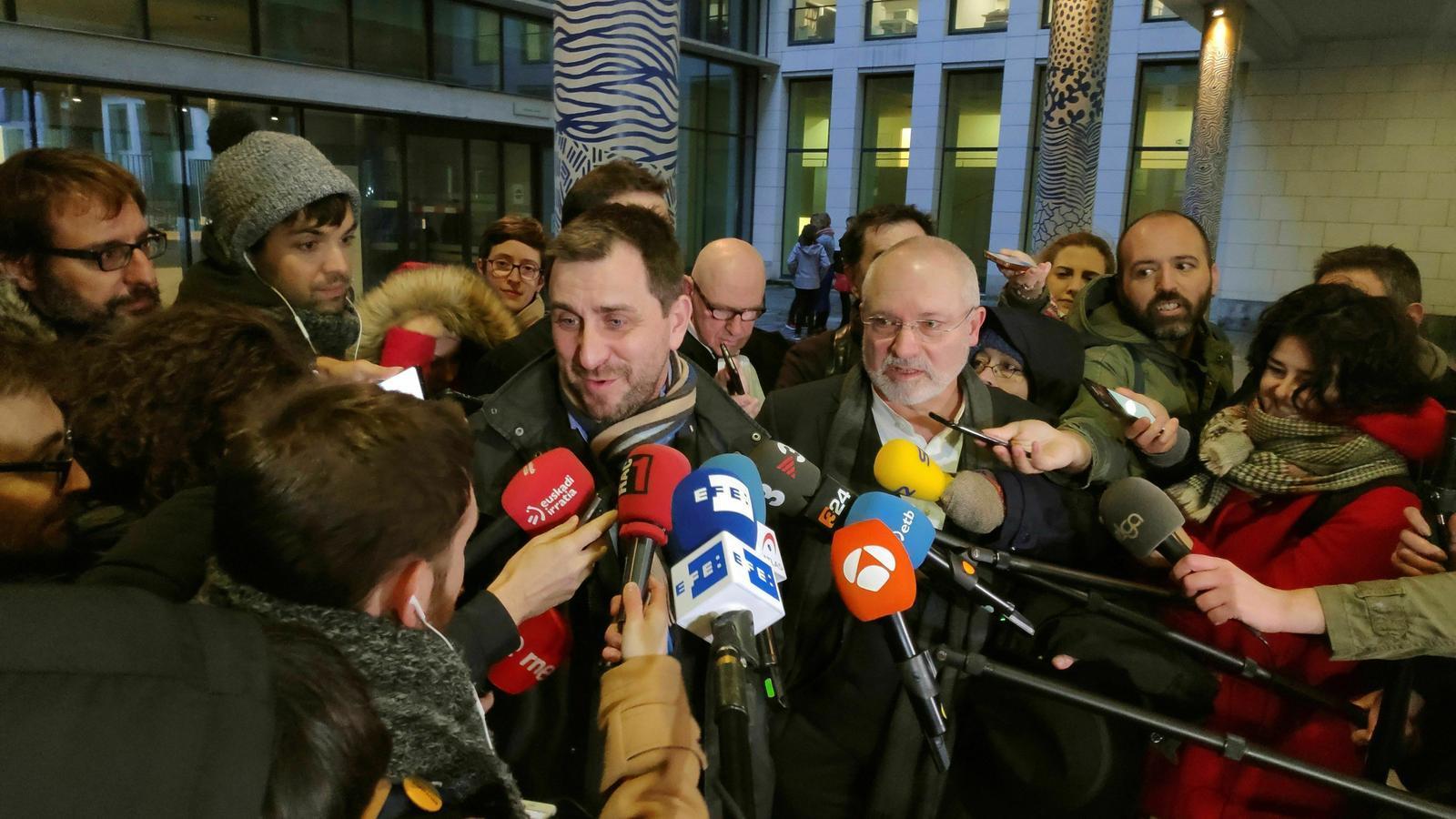 El jutge belga accepta unificar les euroordres de Puigdemont, Comín i Puig
