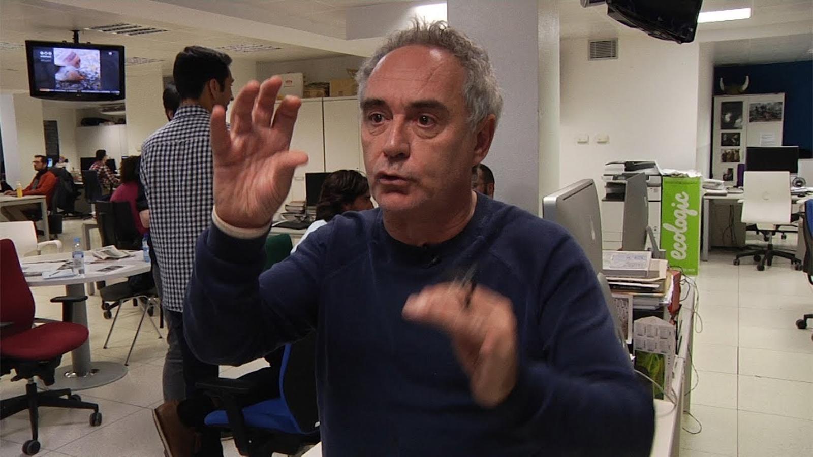 """""""Amb molt de gust"""", un diari especial pensat per Ferran Adrià"""