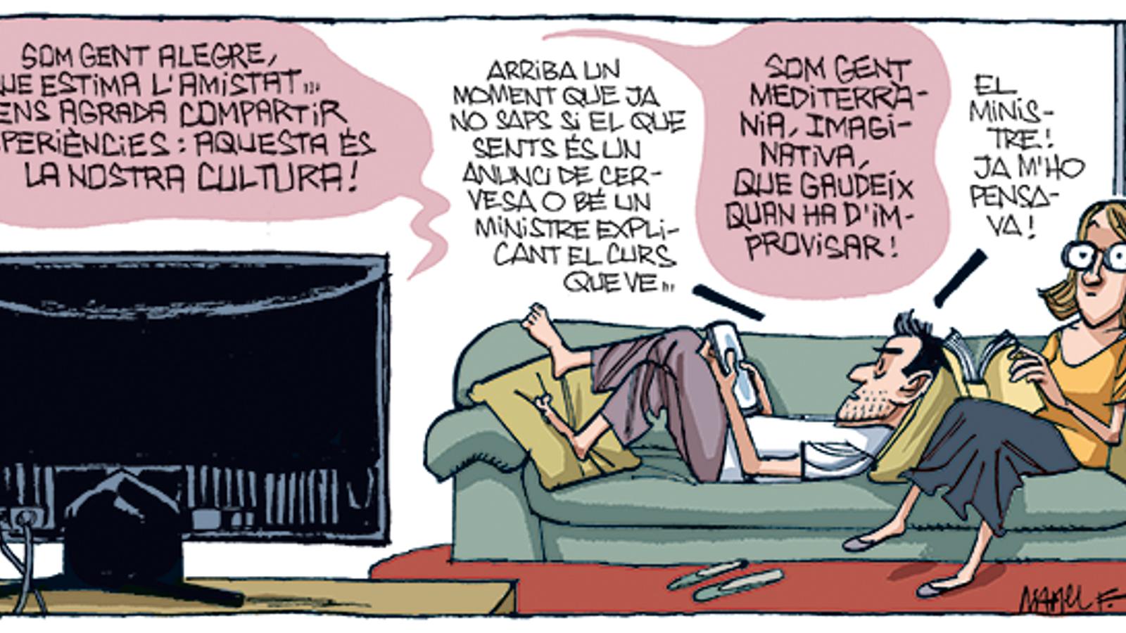'A la contra', per Fontdevila 29/08/2020
