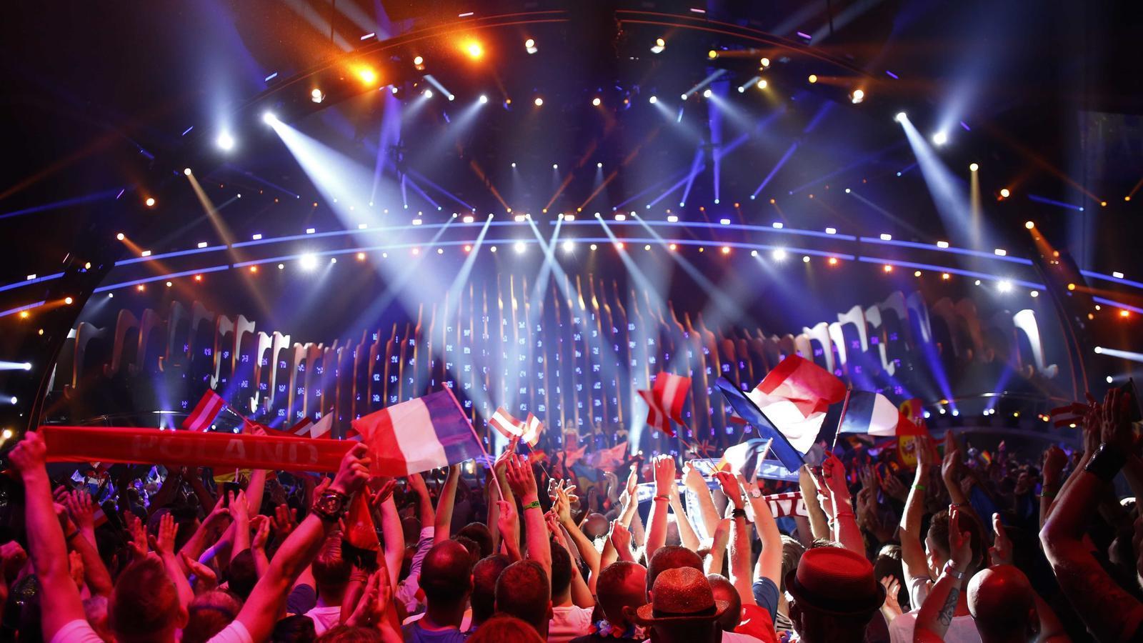 Eurovisió 2018 es divideix entre la música i el xou de focs artificials