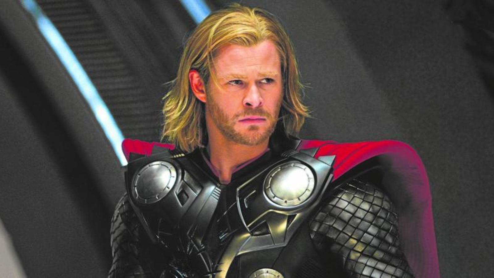 Chris hemsworth L'australià interpreta Thor, déu del tro i fill d'Odin, divinitat escandinava i superheroi de la Marvel,  tot en un. / PARAMOUNT