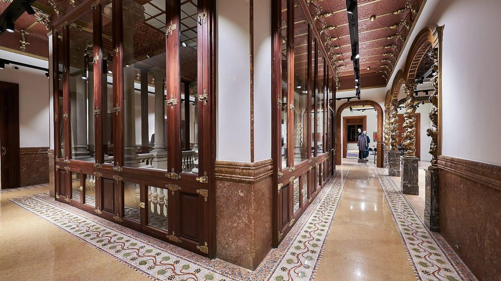 Nous detalls al descobert a la casa Ramon Casas, l'antic Vinçon
