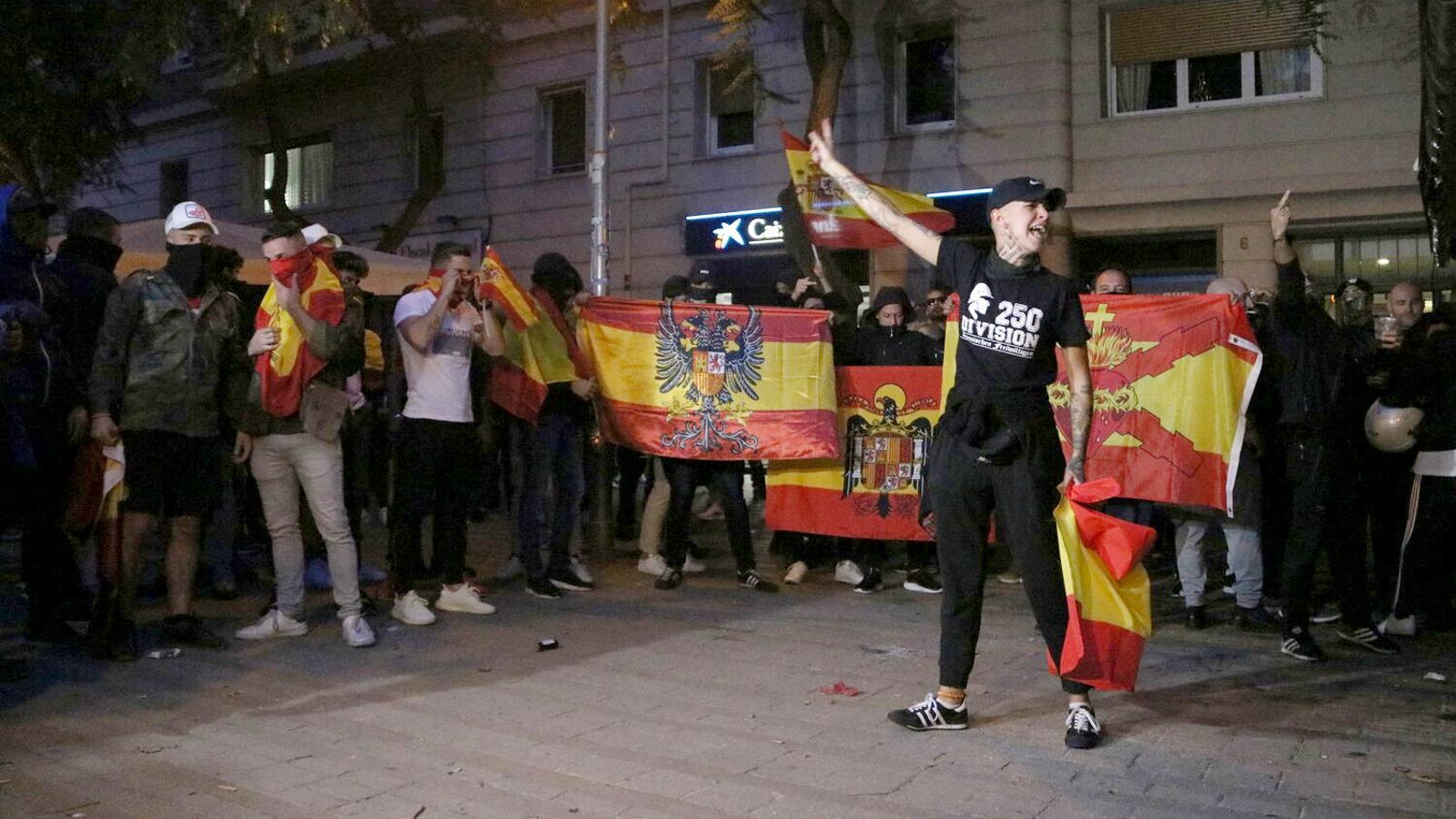 A presó dos dels ultres que van apallissar un jove antifeixista a Barcelona