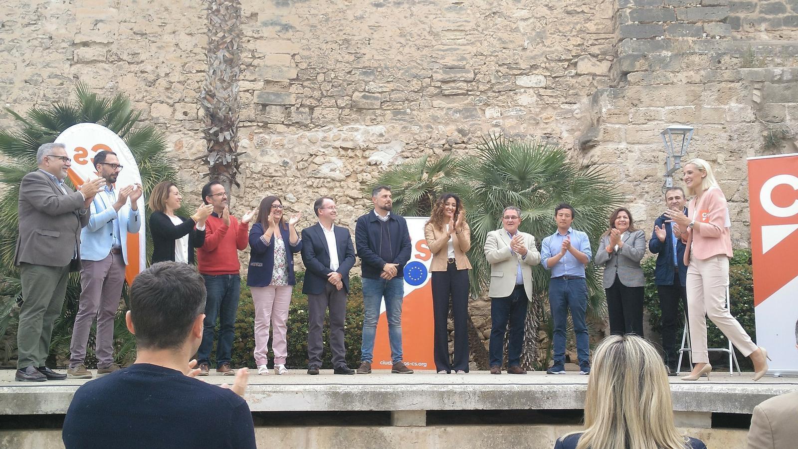 Ciutadans presenta les llistes a l'Ajuntament de Palma a cinc dies de les eleccions.