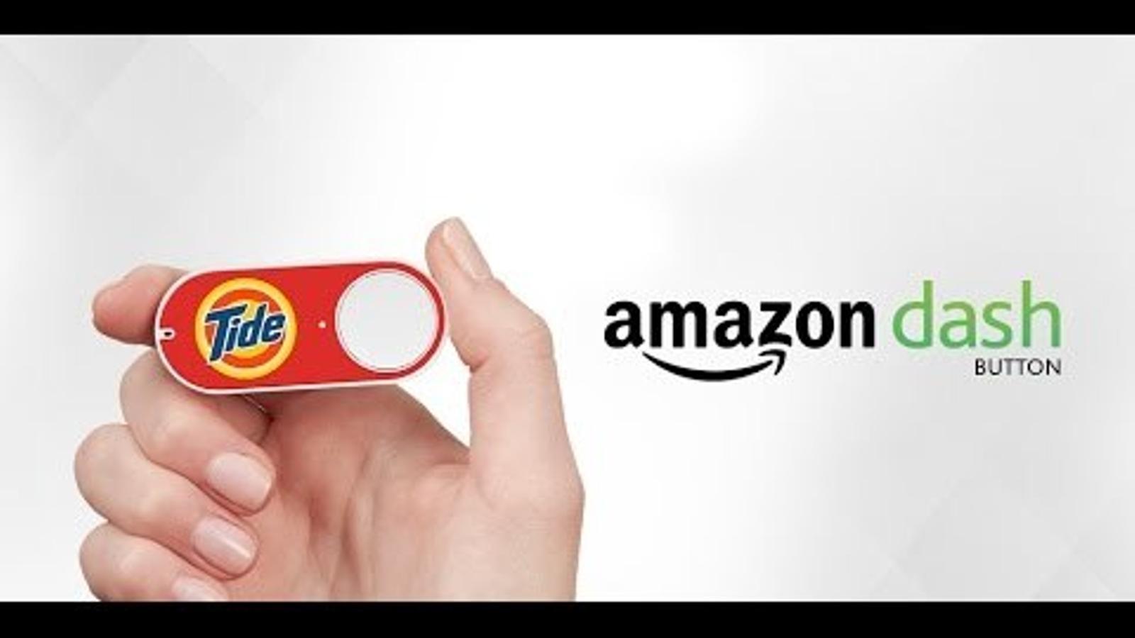 El Dash Button d'Amazon