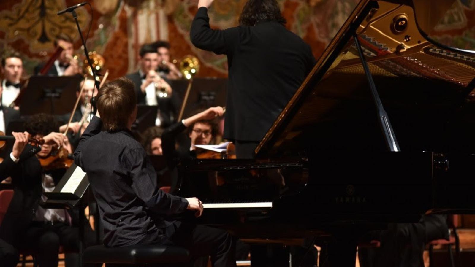 Evgeny Konnov guanya el Premi Fundació Jesús Serra del concurs Maria Canals