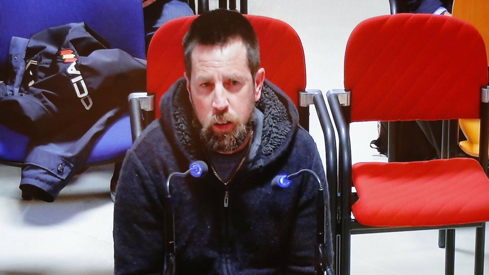 José Enrique Abuin, el Chicle, en un judici previ.