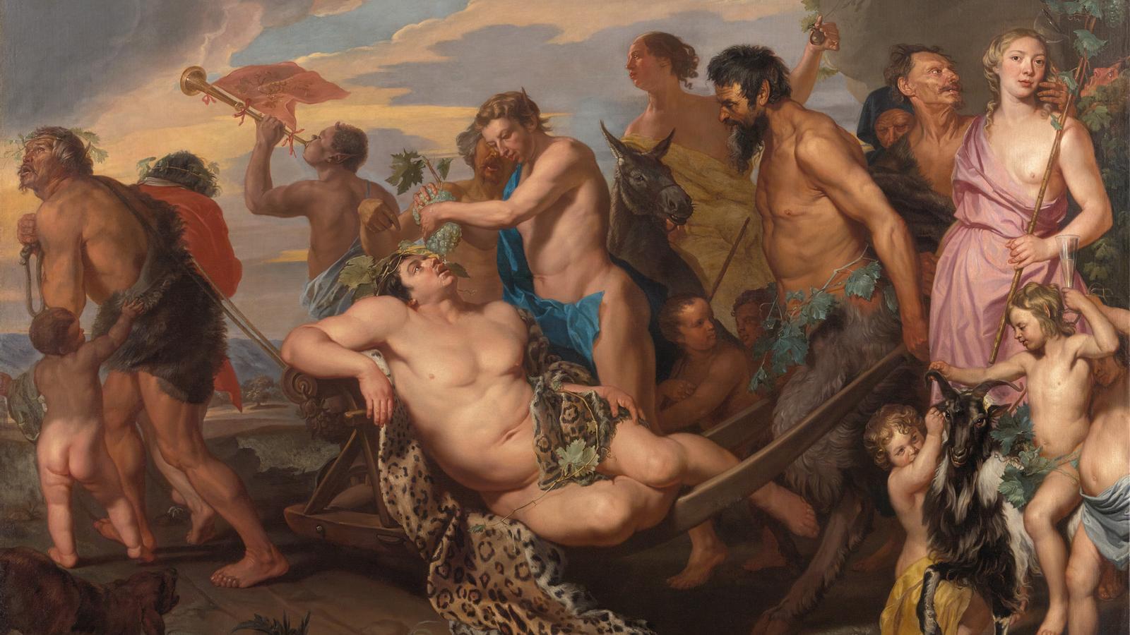 'El triomf de Bacus', de Michaelina Wautier