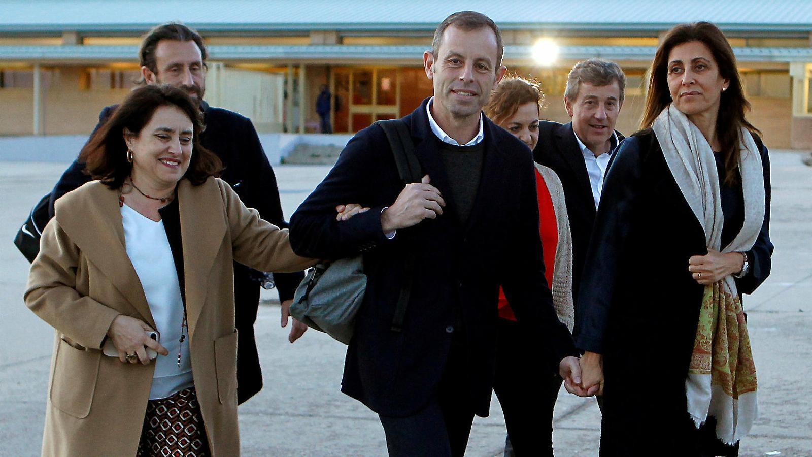 """""""Vas ser el primer pres de les clavegueres de l'Estat contra Catalunya!"""": les reaccions a l'absolució de Rosell"""