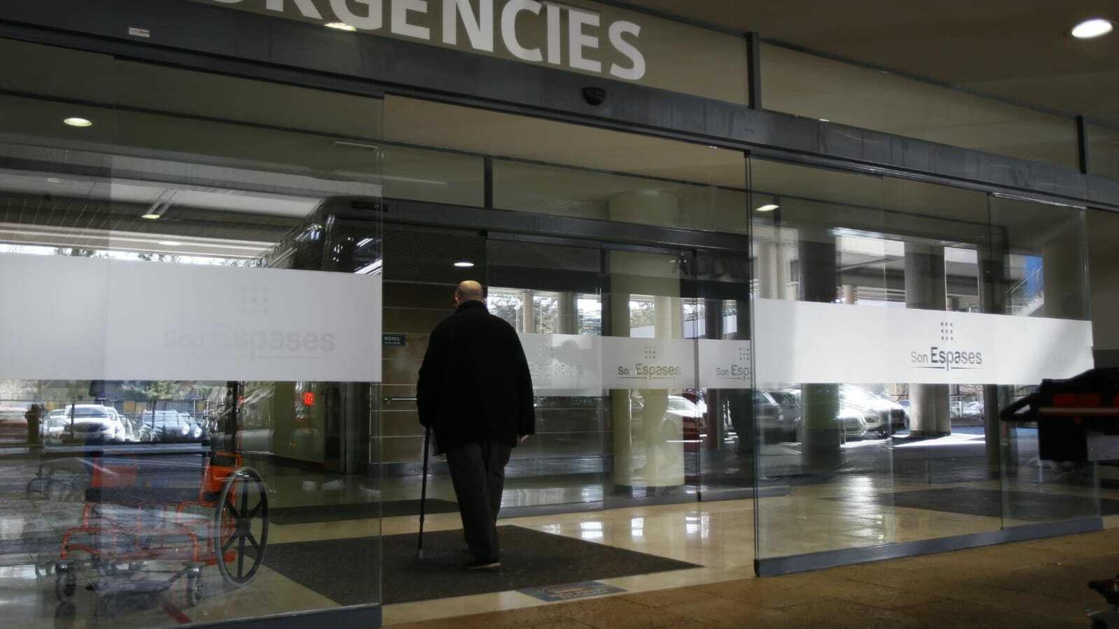 Entrada d'Urgències de l'Hospital de Son Espases, a Palma.