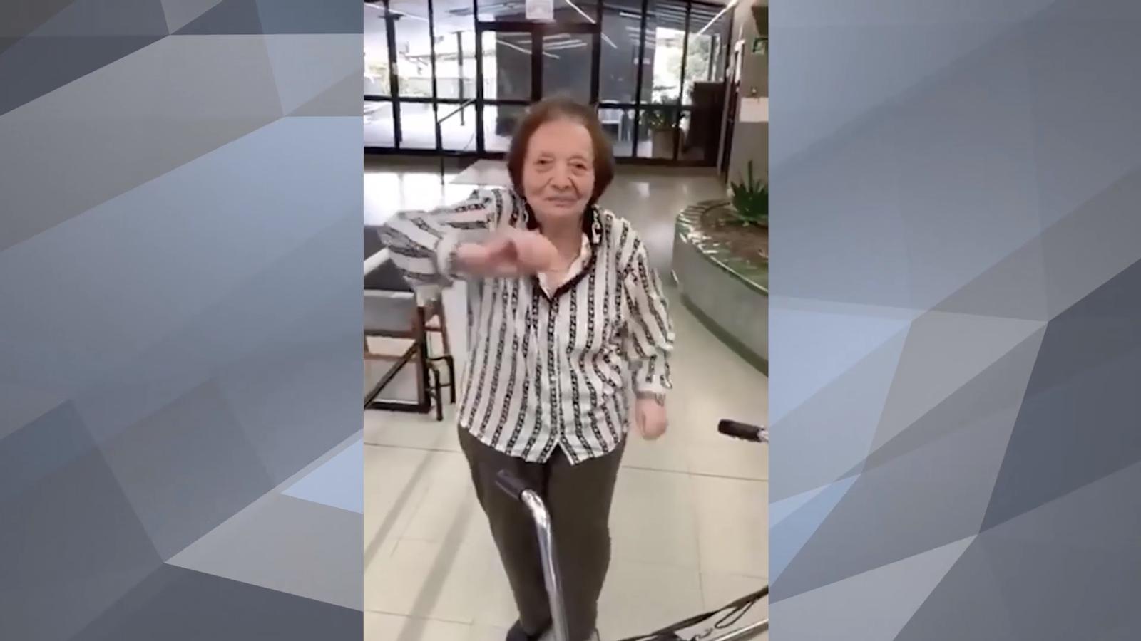El vídeo més enèrgic dels padrins de Clara Rabassa