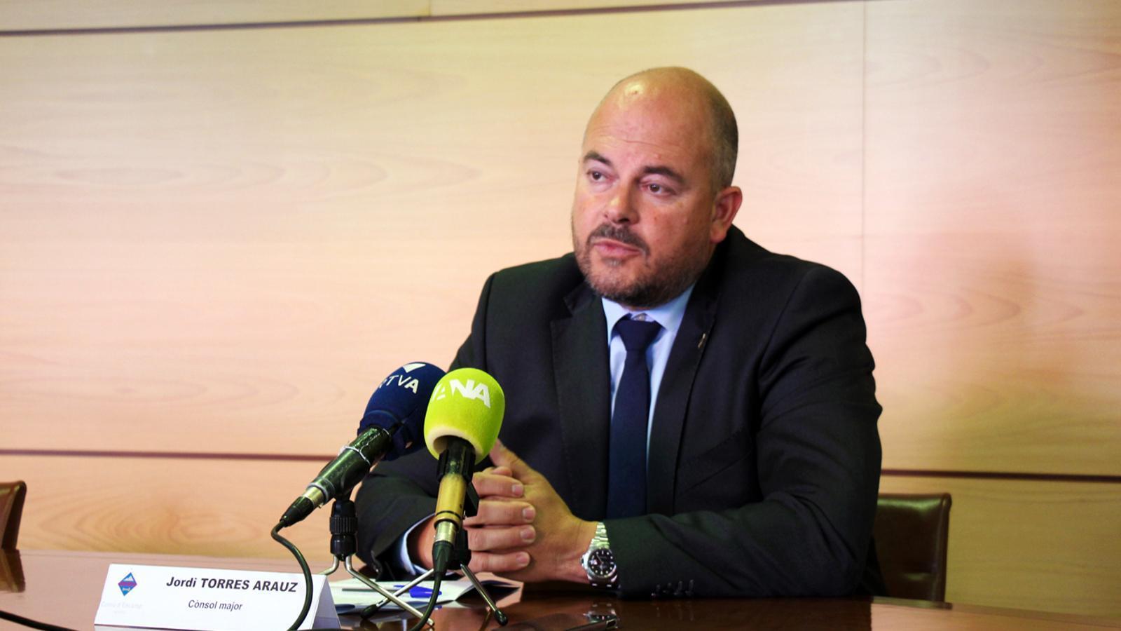 La pilota del nou estadi per l'Andorra està entre la capital i Encamp. / T. N. (ANA)