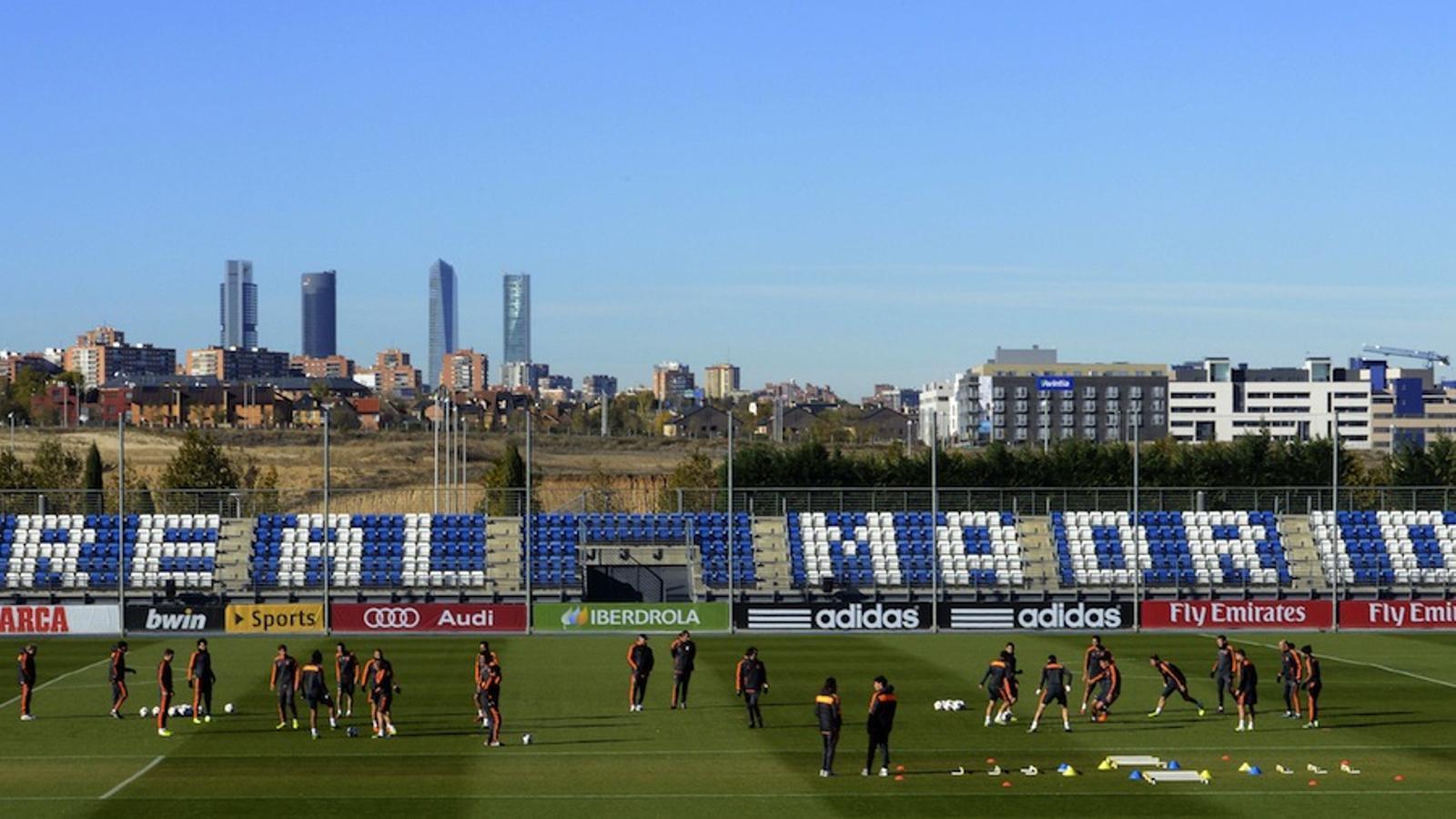 El Reial Madrid, en quarantena