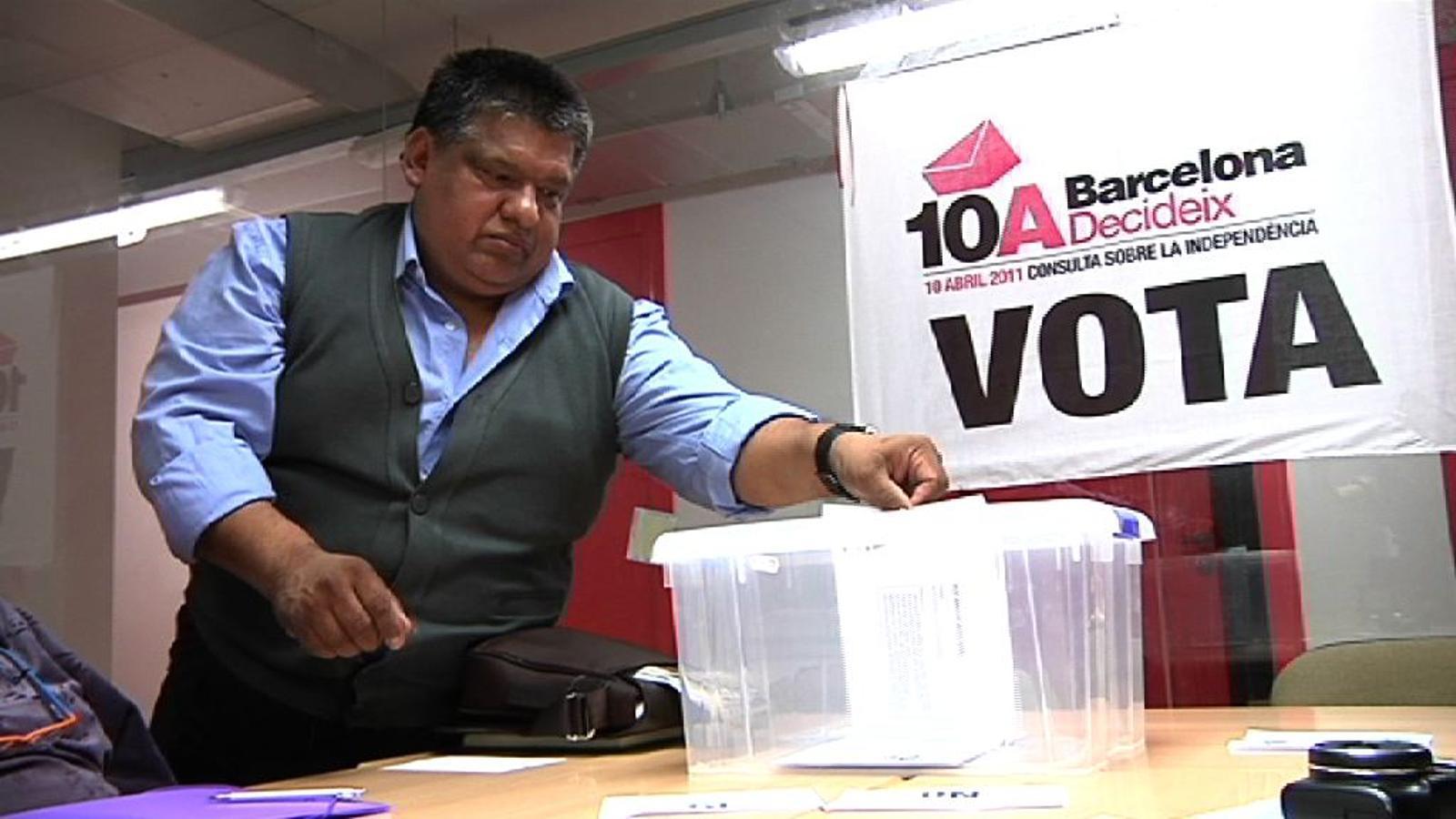 Un dels objectius del 10-A: que votin els immigrants