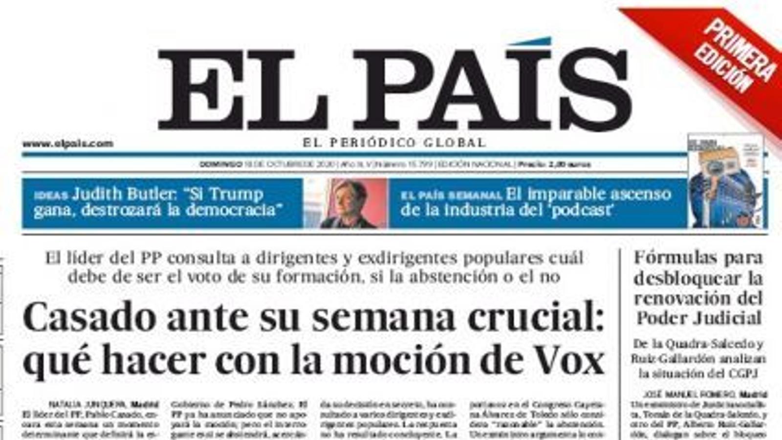 18/10 El País