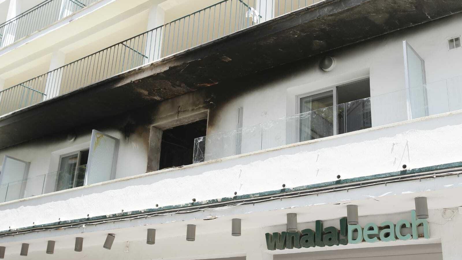 815 evacuats i 67 intoxicats en un incendi a un hotel de l'Arenal de Llucmajor