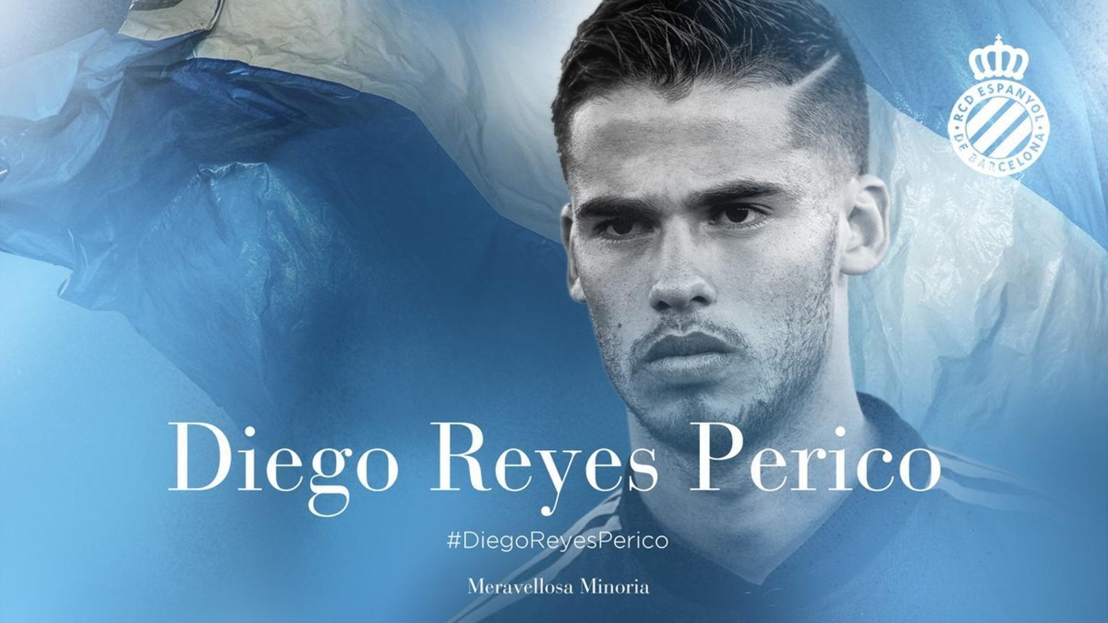 Diego Reyes, novè fitxatge de l'Espanyol pel nou curs