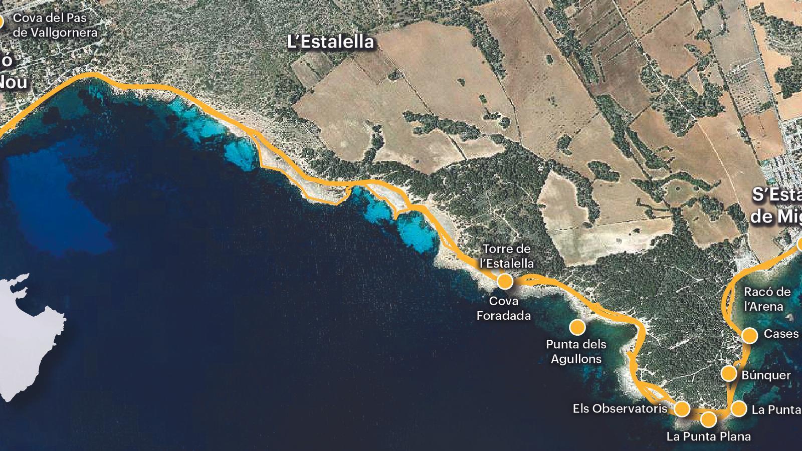 Imatge de la ruta.