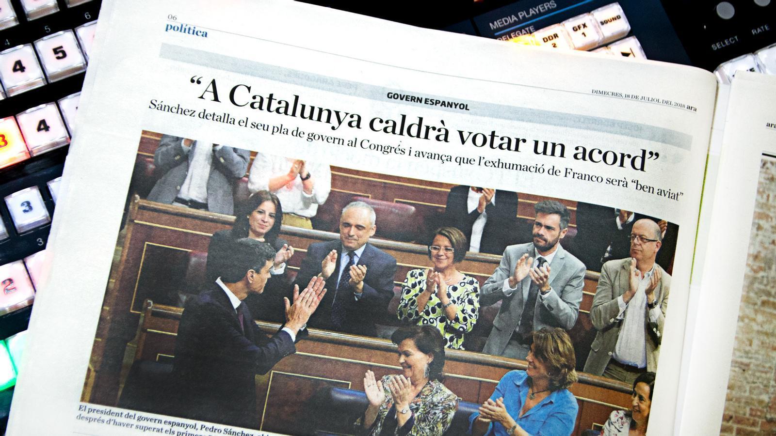 L'anàlisi d'Antoni Bassas: 'L'Estatut és pantalla passada, president Sánchez'