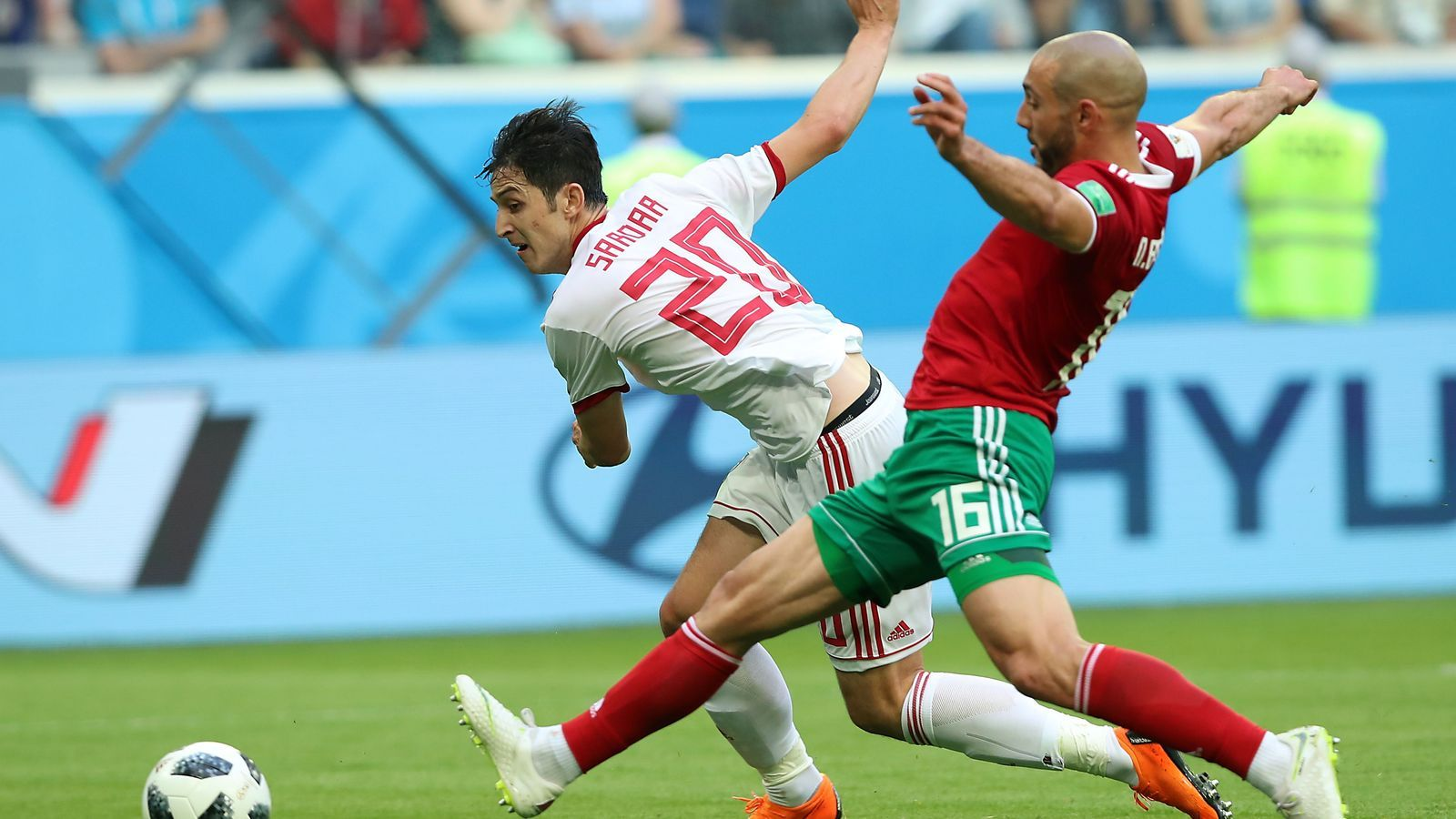 El Marroc i l'Iran empaten a res en el seu debut al Mundial (0-0)