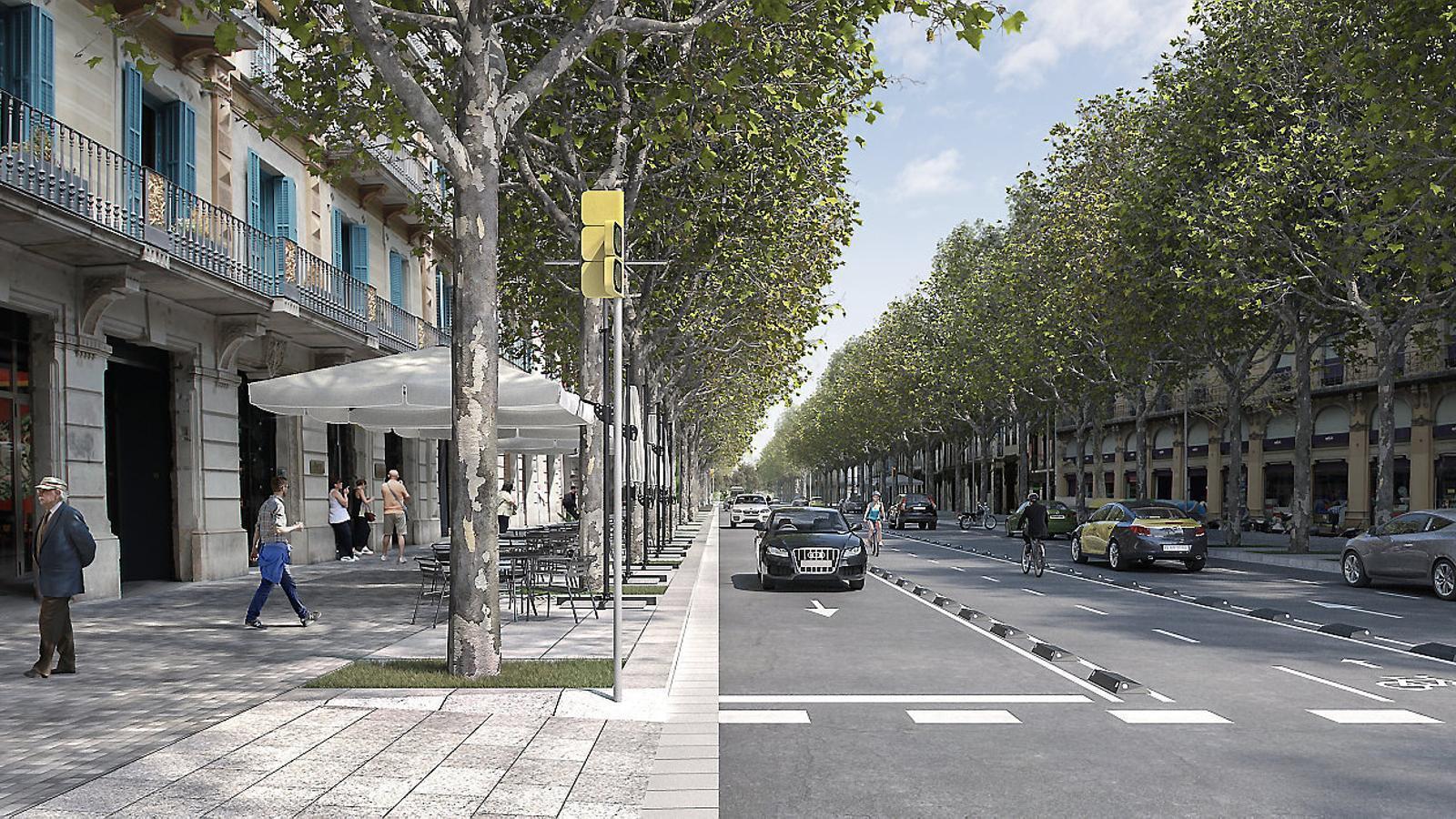 Barcelona transformar la ronda de sant antoni - Moritz ronda sant antoni ...