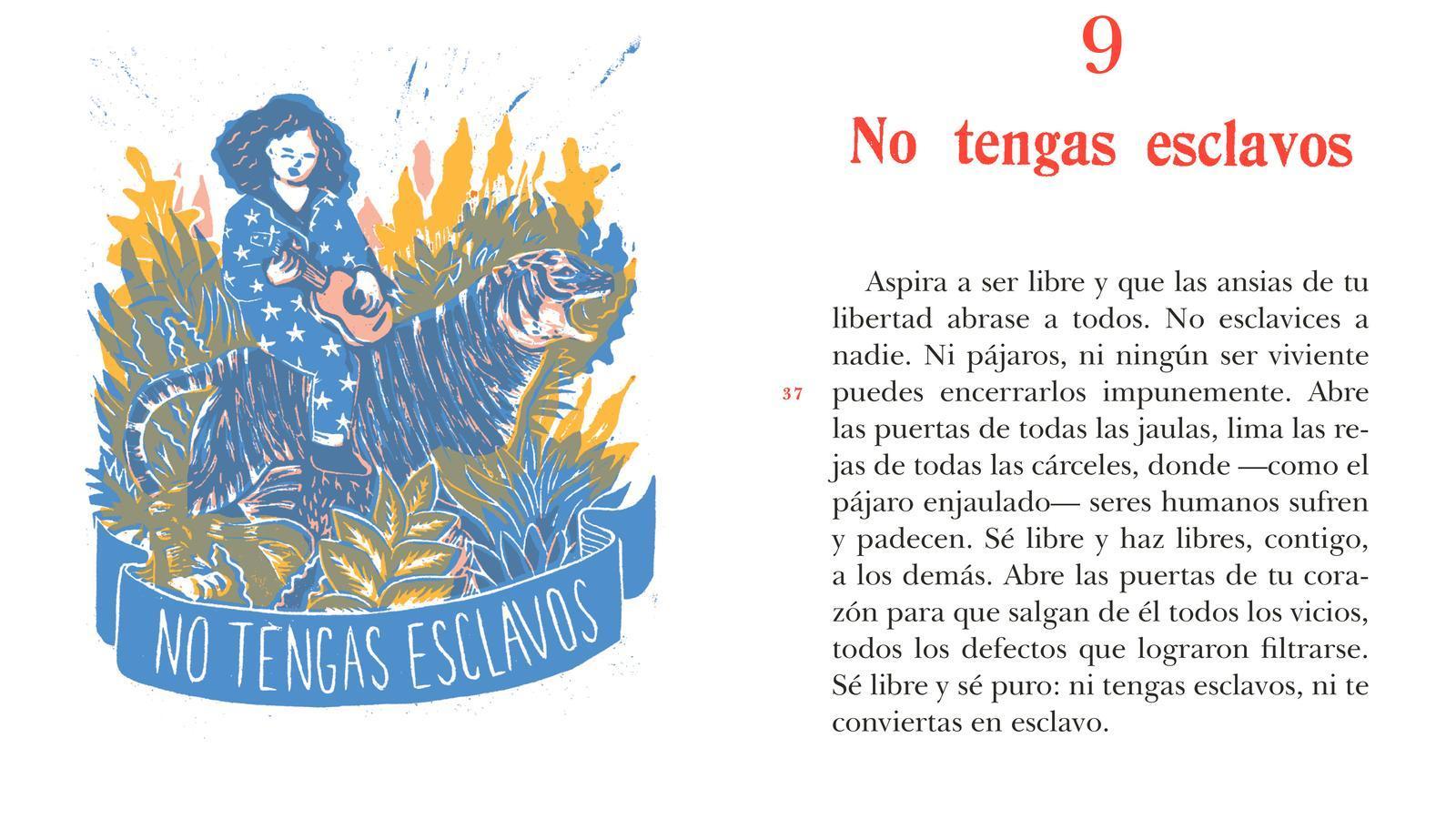 """""""La anarquia explicada a los niños"""" de l'editorial Zorro Rojo"""