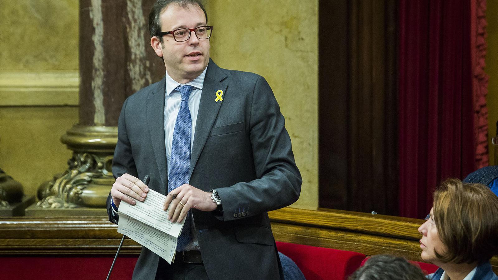 El diputat de JxCat i alcalde de Mollerussa, Marc Solsona.