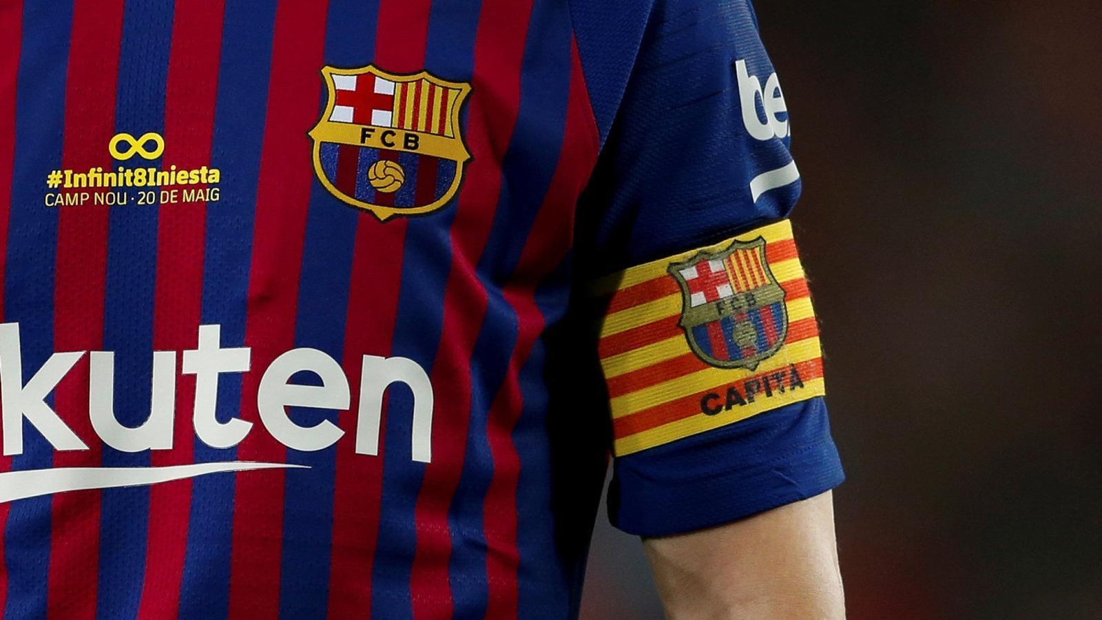 Andrés Iniesta va vestir ahir per últim cop la samarreta del Barça.
