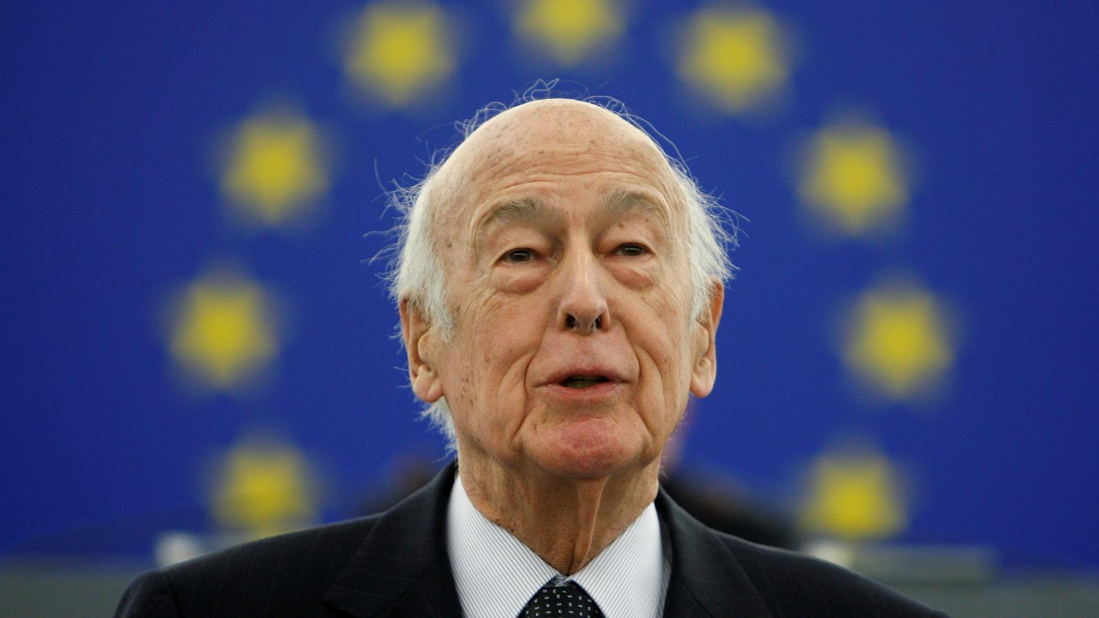 L'expresident francès Valéry Giscard d'Estaing