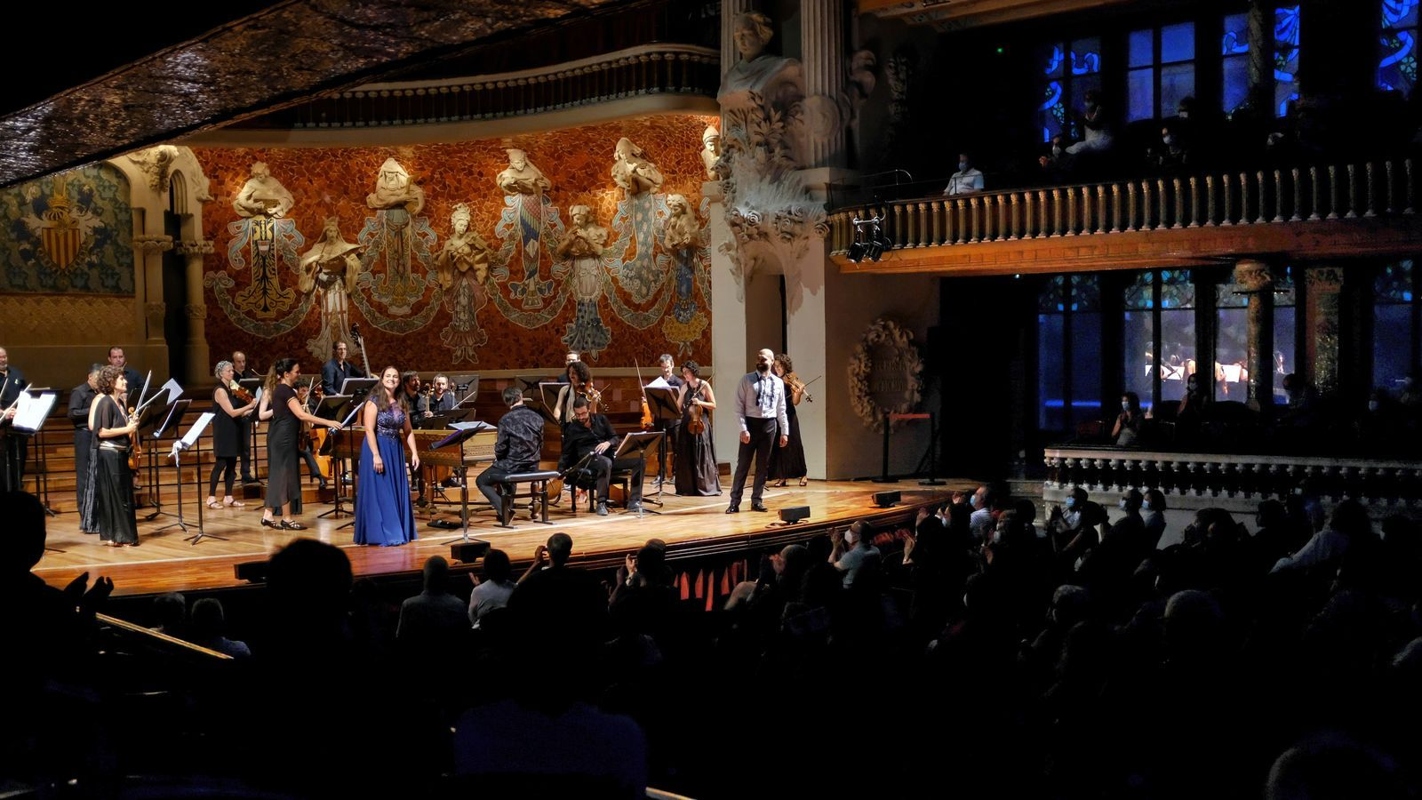 Núria Rial, Xavier Sabata i Vespres d'Arnadí al Palau de la Música / ALFRED MAUVE / ICUB