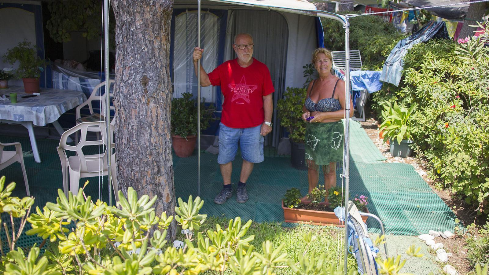 El Ramón i la Teresa, dos dels campistes més veterans del 3 Estrellas
