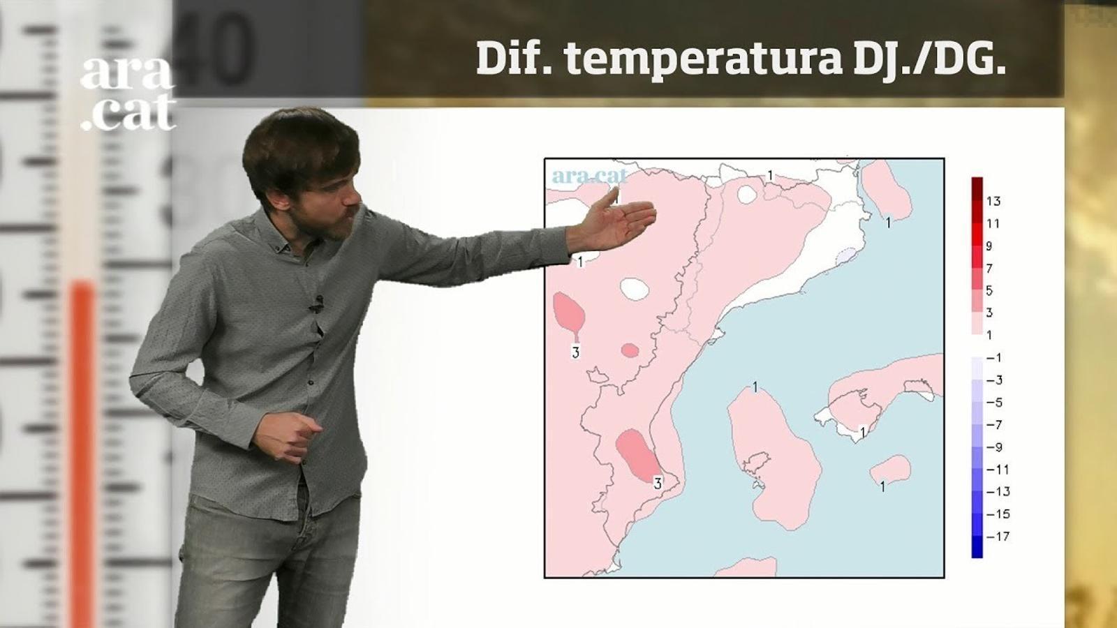 La méteo en 1 minut: de la calor intensa al fred de tardor