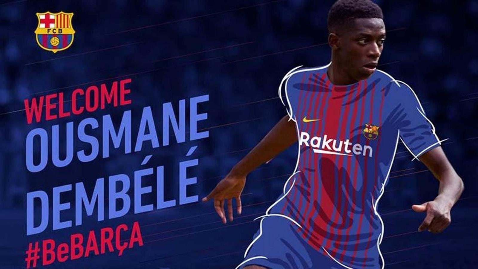 EN DIRECTE Presentació Dembélé com a nou jugador del Barça