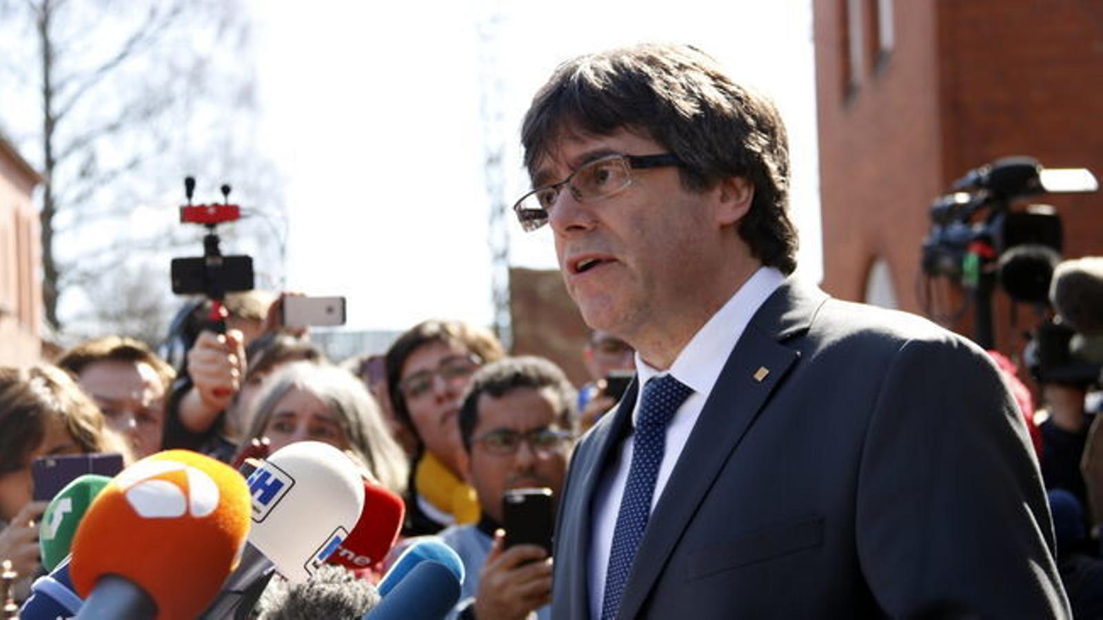 La justícia alemanya decideix extradir Puigdemont, però només per malversació