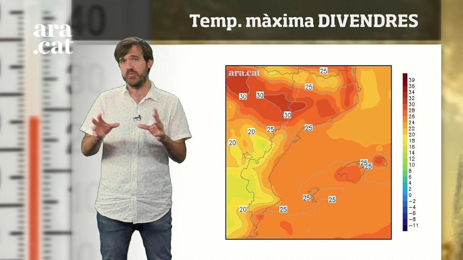 La méteo en 1 minut: més núvols i ambient força càlid