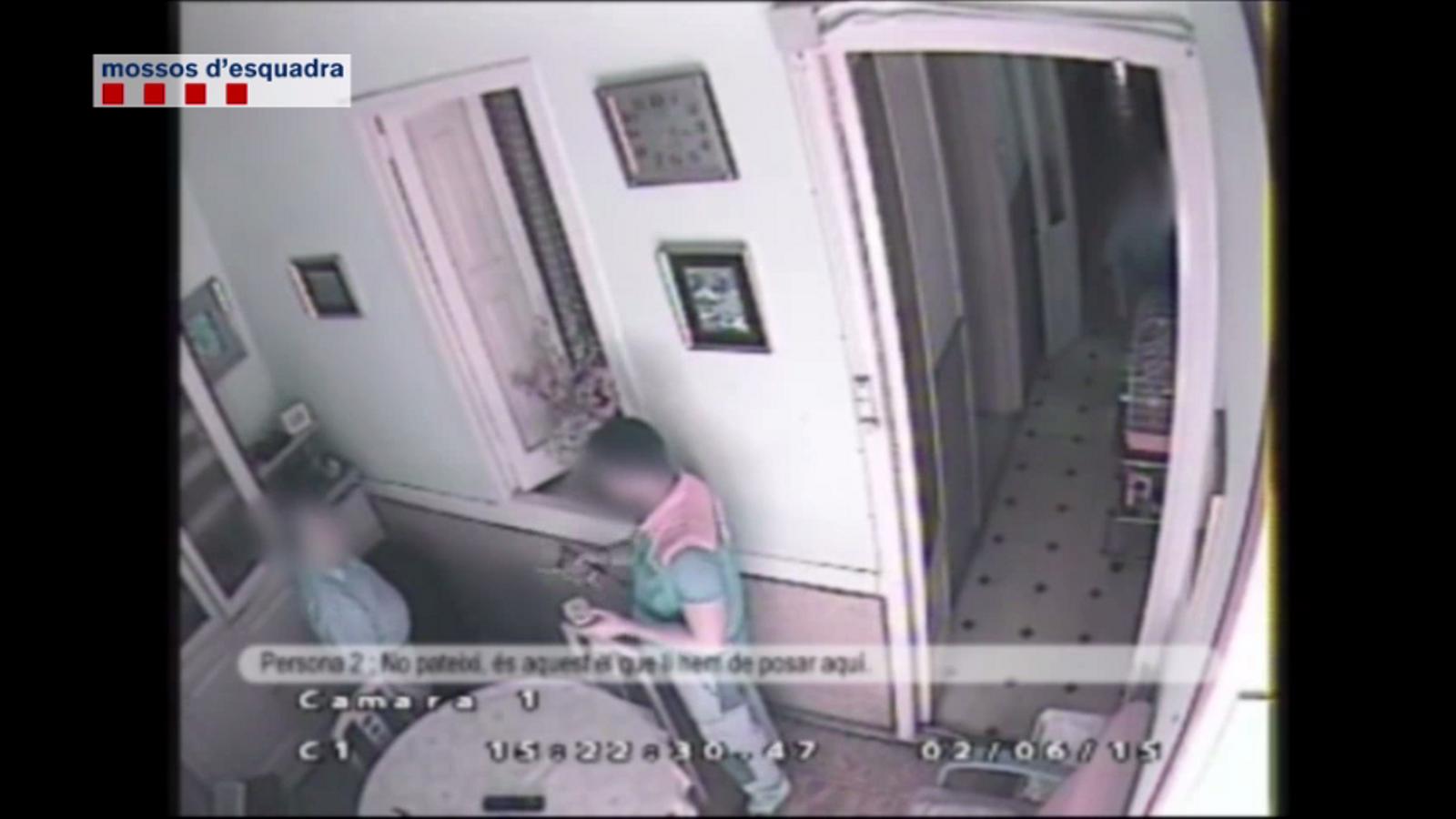 L'estafa dels revisors de gas, enxampada 'in fraganti' en un vídeo