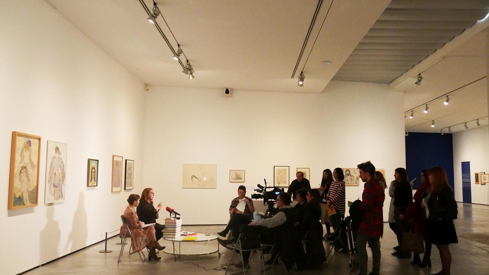 Imatge de la presentació de l'exposició
