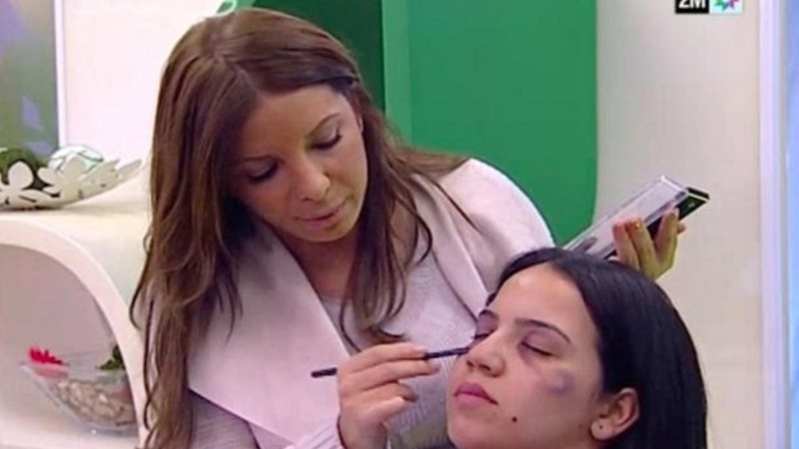 La televisió del Marroc dóna consells per tapar la violència de gènere amb maquillatge
