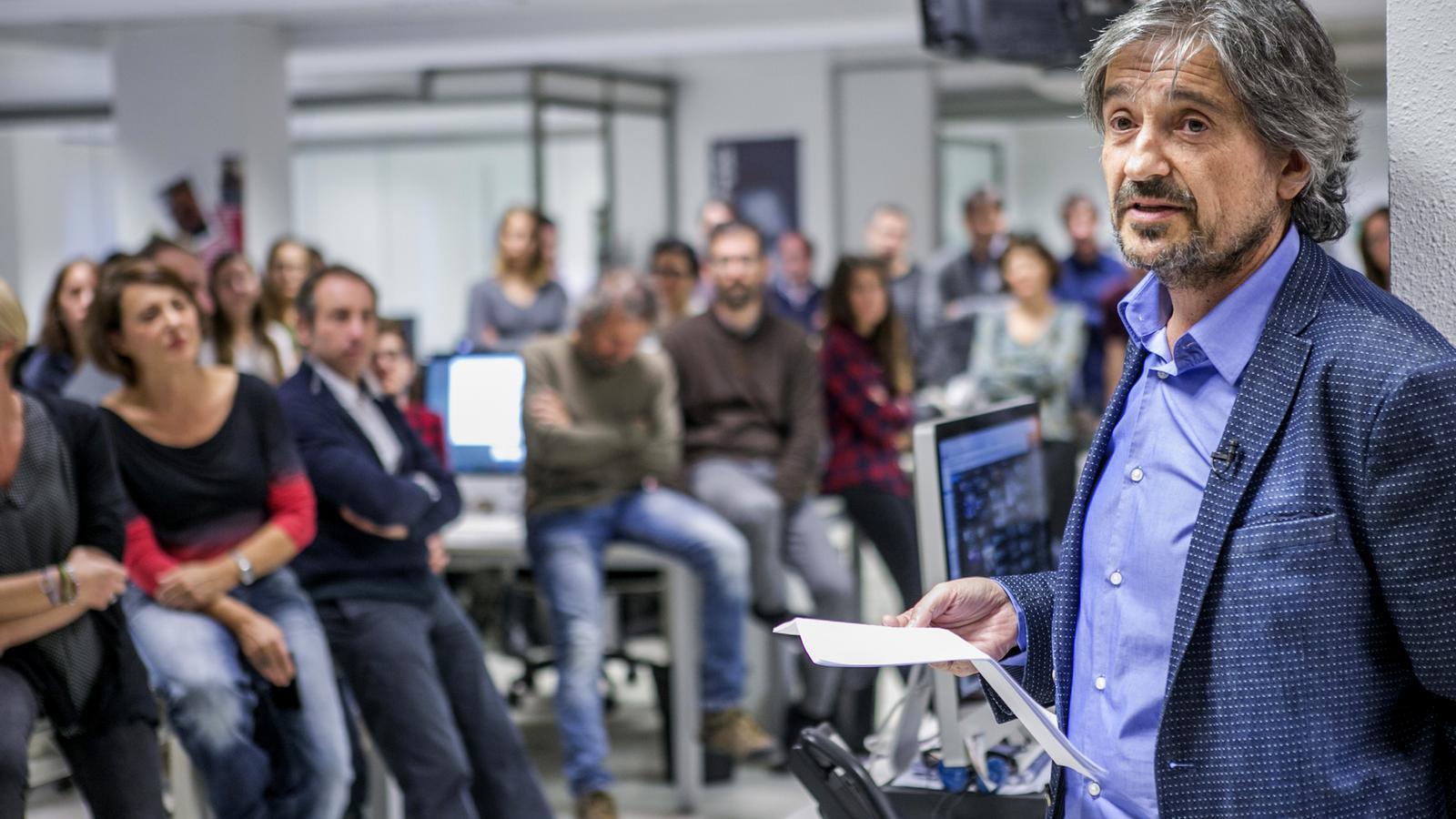 """Carles Capdevila: """"L'ARA ha sigut el projecte de la meva vida i ara el meu projecte és la meva vida"""""""