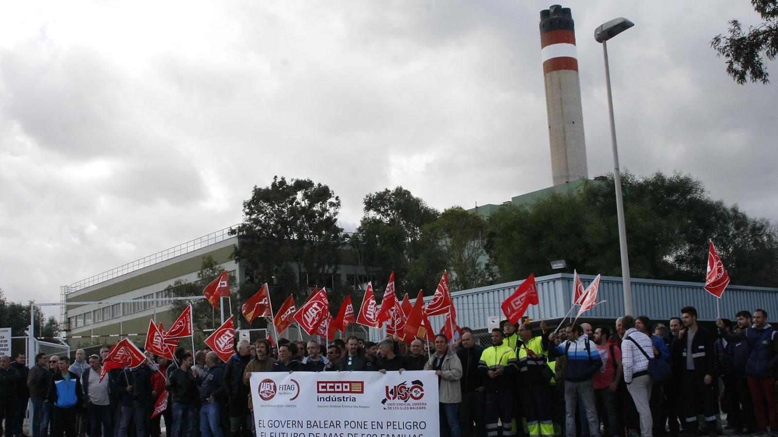Els treballadors del Murterar, contra el tancament de la central