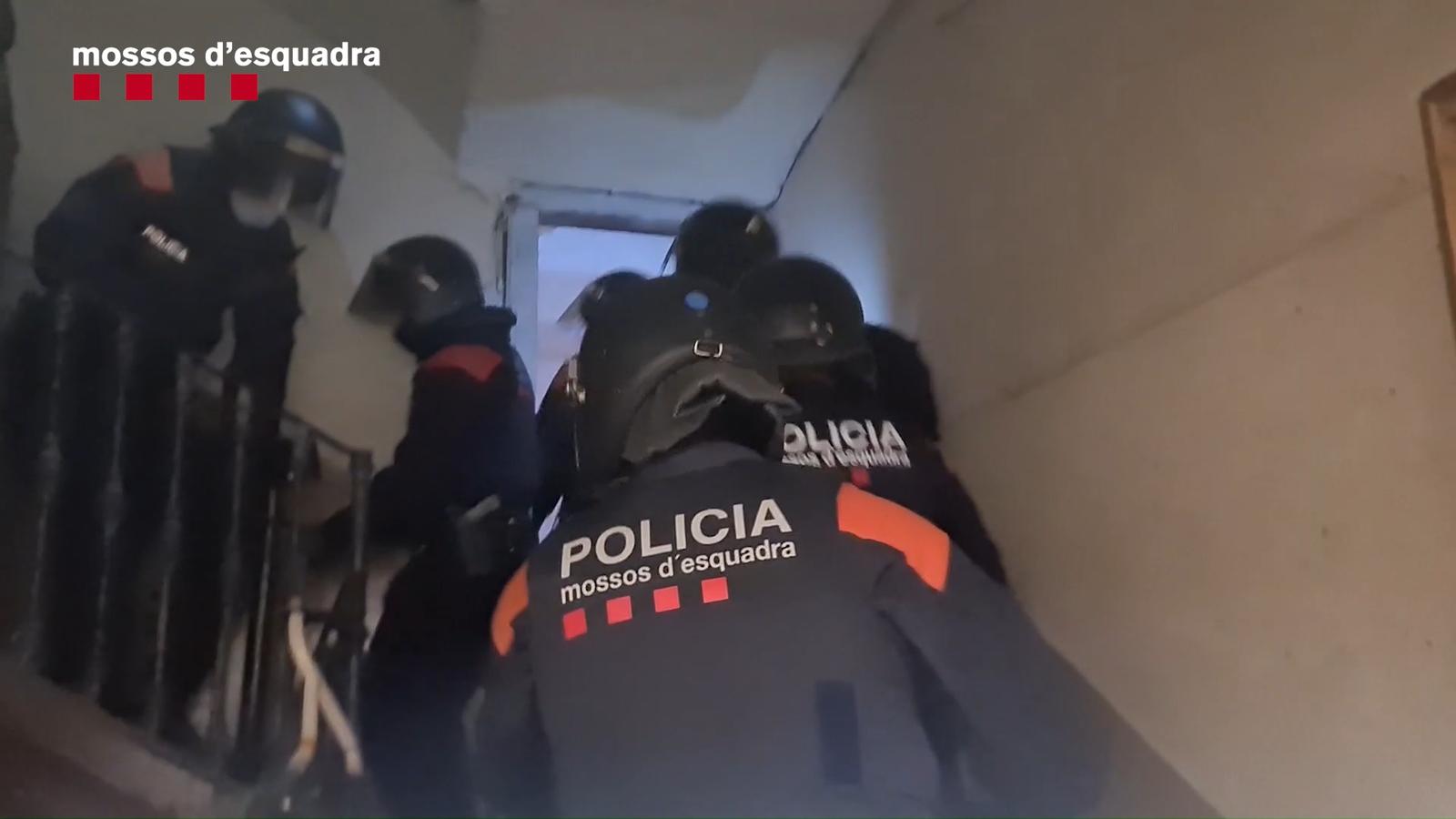 Desarticulen un grup que tenia quatre narcopisos a l'Eixample i Ciutat Vella