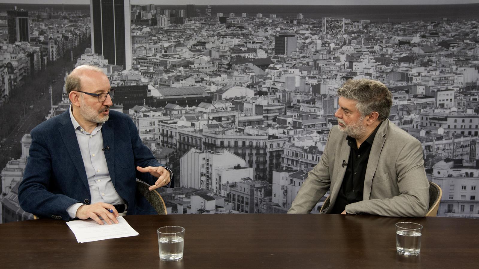 Entrevista d'Antoni Bassas a Xavier Albertí