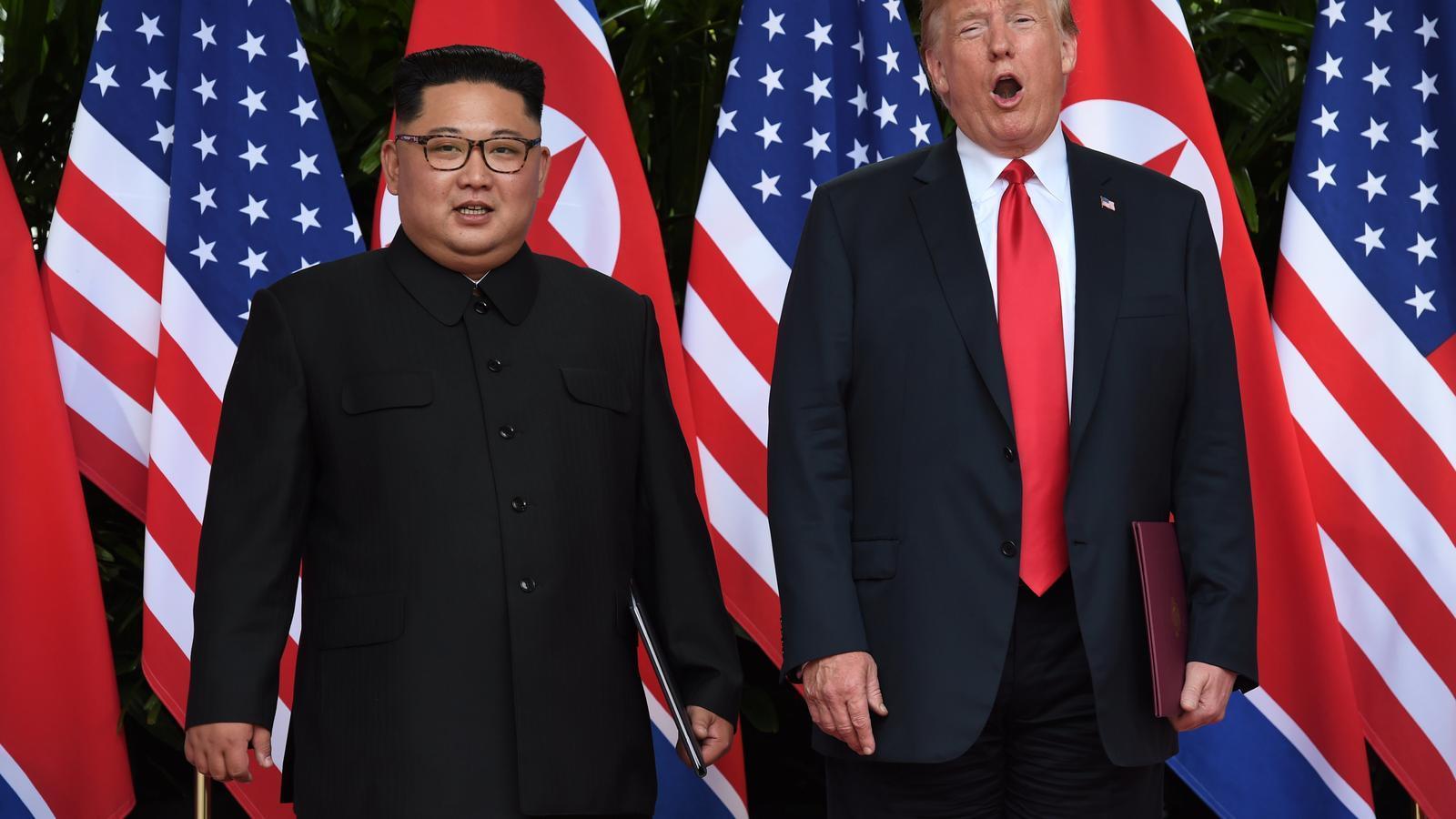 Trump amb Kim Jong-un: dels insults ferotges a una cortesia gairebé indecent