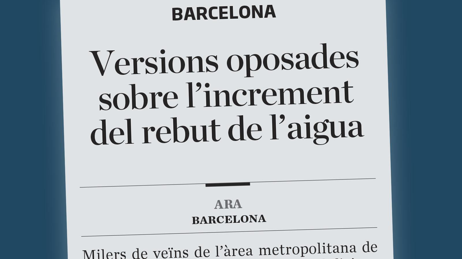La baixa laboral dels pares quan les criatures estiguin en quarantena, per què s'enfila el rebut de l'aigua a Barcelona, i reunió Josep Maria Bartomeu-Jorge Messi: les claus del dia, amb Antoni Bassas (02/09/2020)