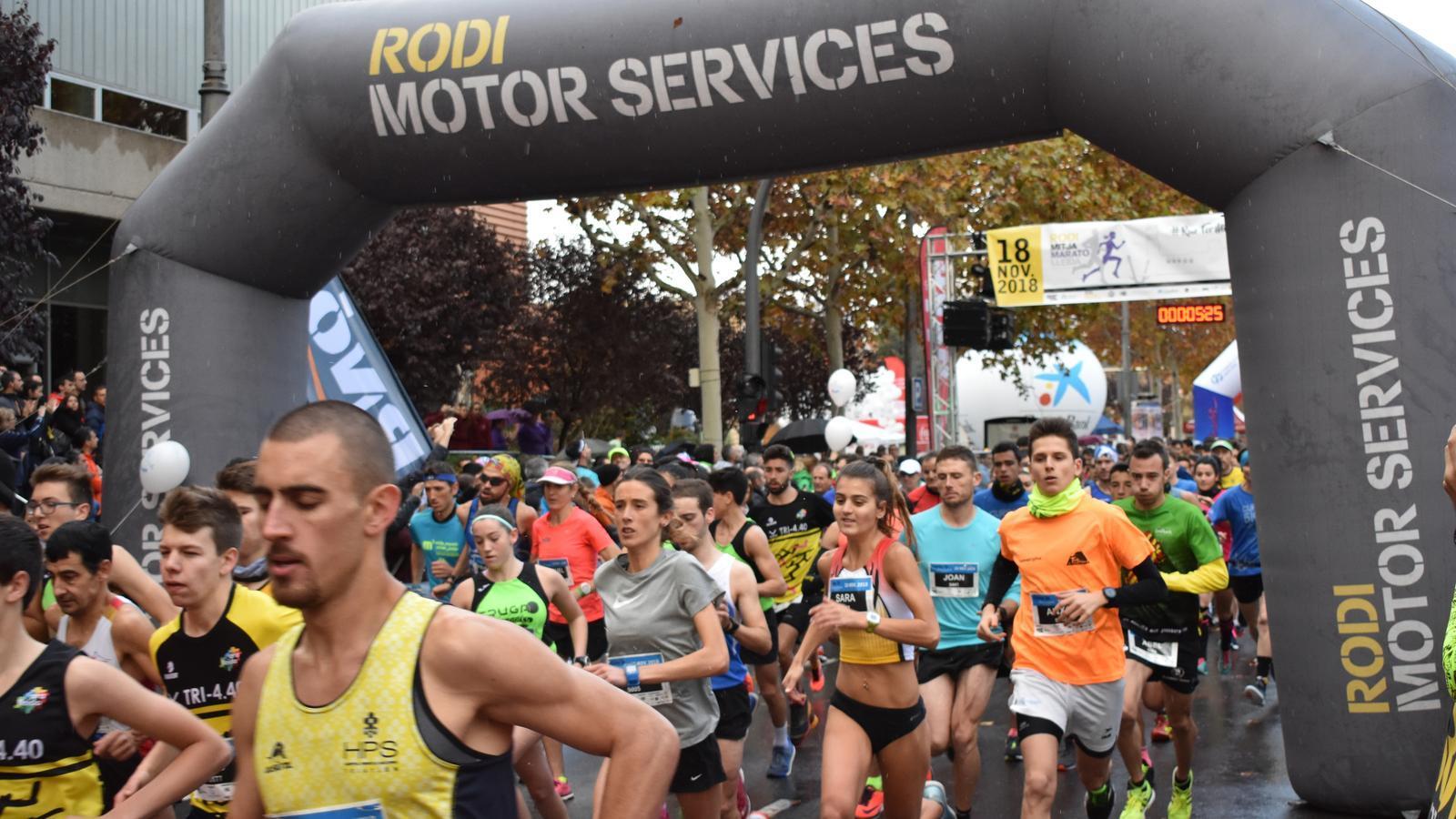 La Federació Catalana d'Atletisme homologa la Rodi Mitja Marató de Lleida