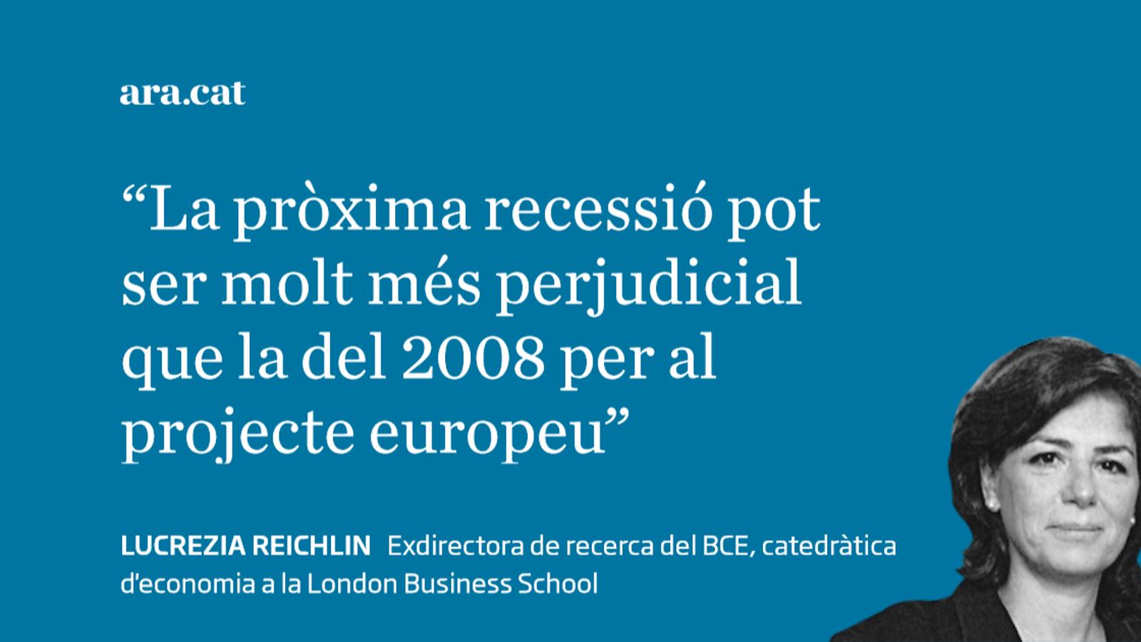 L'amenaça d'una recessió a l'eurozona