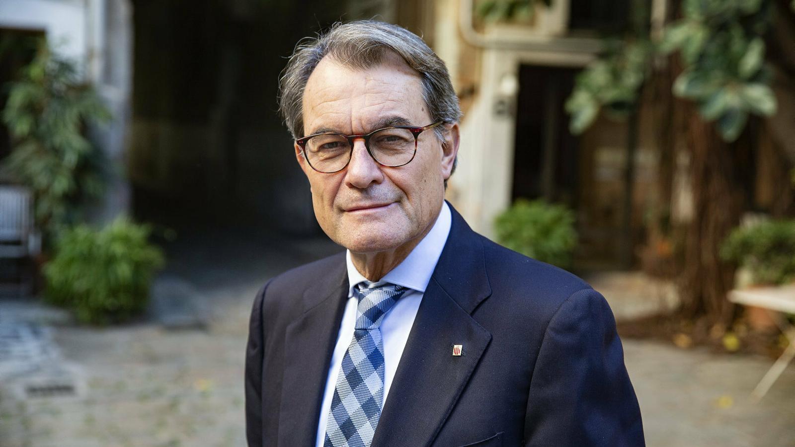 """Artur Mas: """"Qui opti a presidir la Generalitat ho ha de fer per governar, no per liderar el Procés"""""""